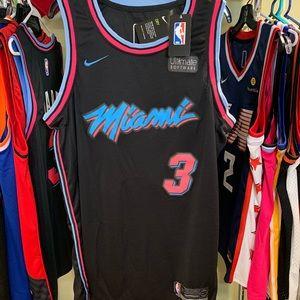 Dwayne Wade NBA Vice City Night Edition Jersey